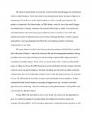 Master Degree's Apllication Essay