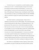 Descriptive Essay: Restaurant
