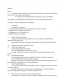 Strategic Management Questions