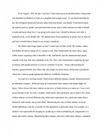 sociology autobiography essay zoom