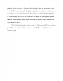 young goodman brown vs a tell tale heart essay zoom zoom zoom
