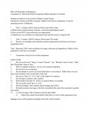 Mkt 229 Principles of Marketing 2 - Study Guide only