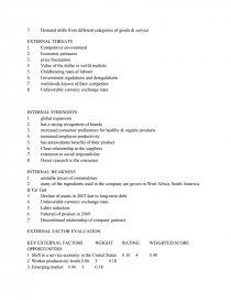 hershey company case study 2009
