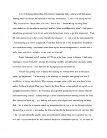 my reflection of substance abuse essay zoom