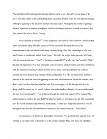 the quiet american essay