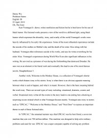 irony in top of the food chain by t coraghessan boyle essay Mid-term exam: ap argumentative essay and one passage from an ap objective test final exam: rhetorical analysis essay and one passage from an ap objective test trimester b unit 1 satire students will read satire and learn to identify how hyperbole, humor, irony, understatement, and control of tone can create a thought provoking.