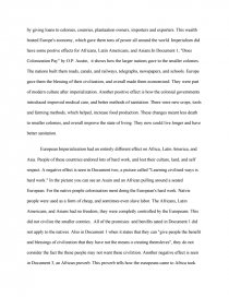 Argumentative Essay Topics On Health Essay Preview European Imperialism  Dbq Essay Model Essay English also Sample Of Research Essay Paper European Imperialism  Dbq Essay  Essay Custom Term Papers And Essays