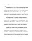 Beowulf Essay Anglo-Saxons Vs. Real World Applications