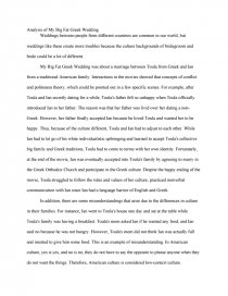 Computer Science Essays Essay Preview Analysis Of My Big Fat Greek Wedding Thesis Statement In A Narrative Essay also Search Essays In English Analysis Of My Big Fat Greek Wedding  Essay Personal Narrative Essay Examples High School