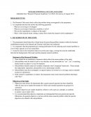 Research Proposal Outline and Guide