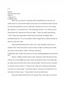 Eng 110: Essay on Losing My Lucky