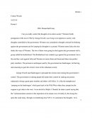 1984- Researched Essay