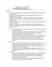 augustine medical case analysis