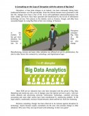 Consulting on the Cusp of Disruption with the Advent of Big Data?